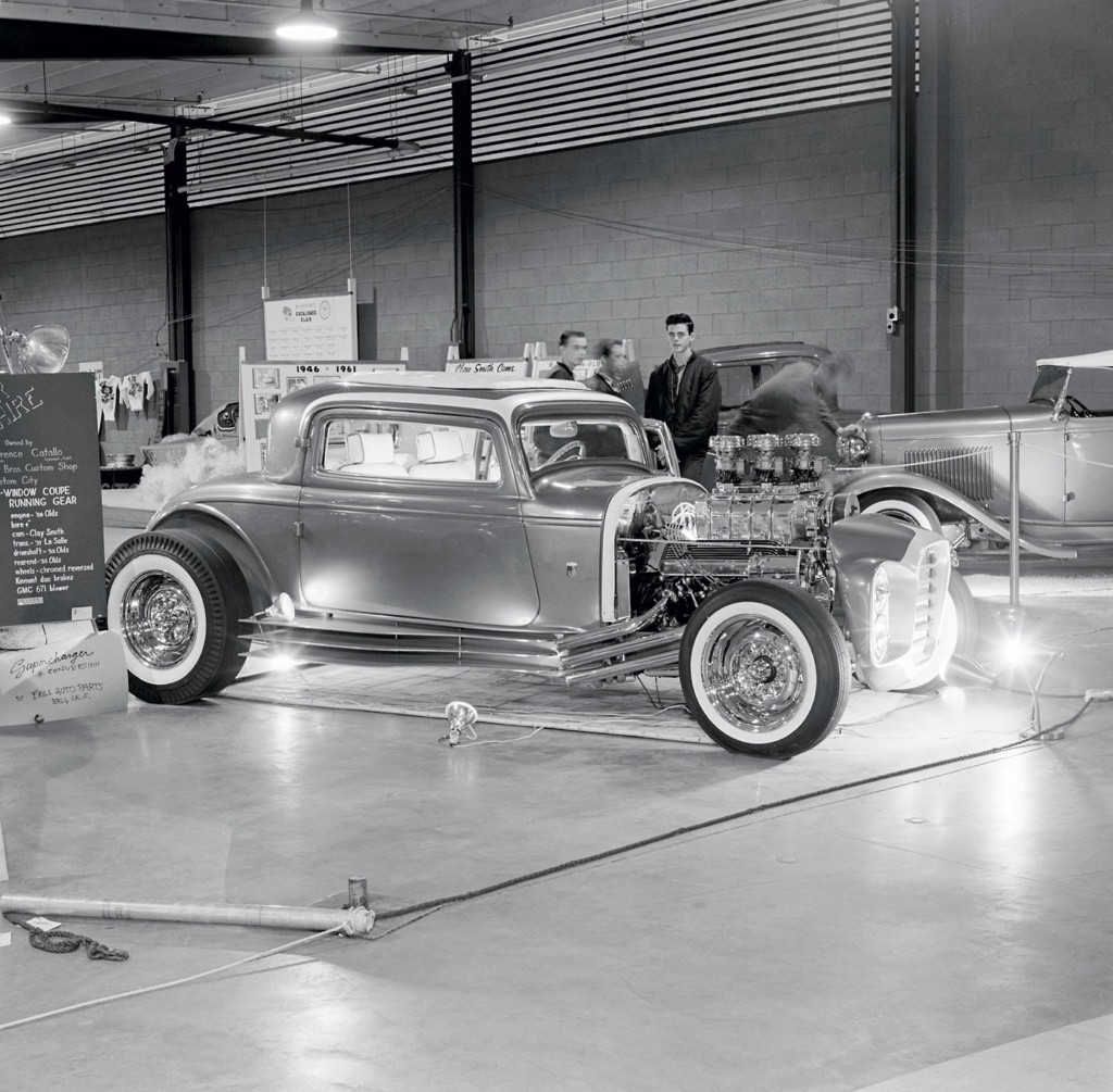The Little Deuce Coupe - The Silver Sapphire - Clarence Catallo's 1932 Ford Catall10
