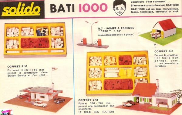 SOLIDO  BATI 1000  -  Jeu de construction. Catalo11