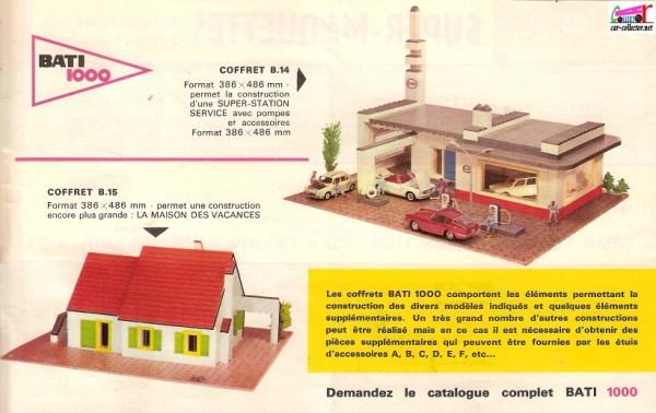 SOLIDO  BATI 1000  -  Jeu de construction. Catalo12