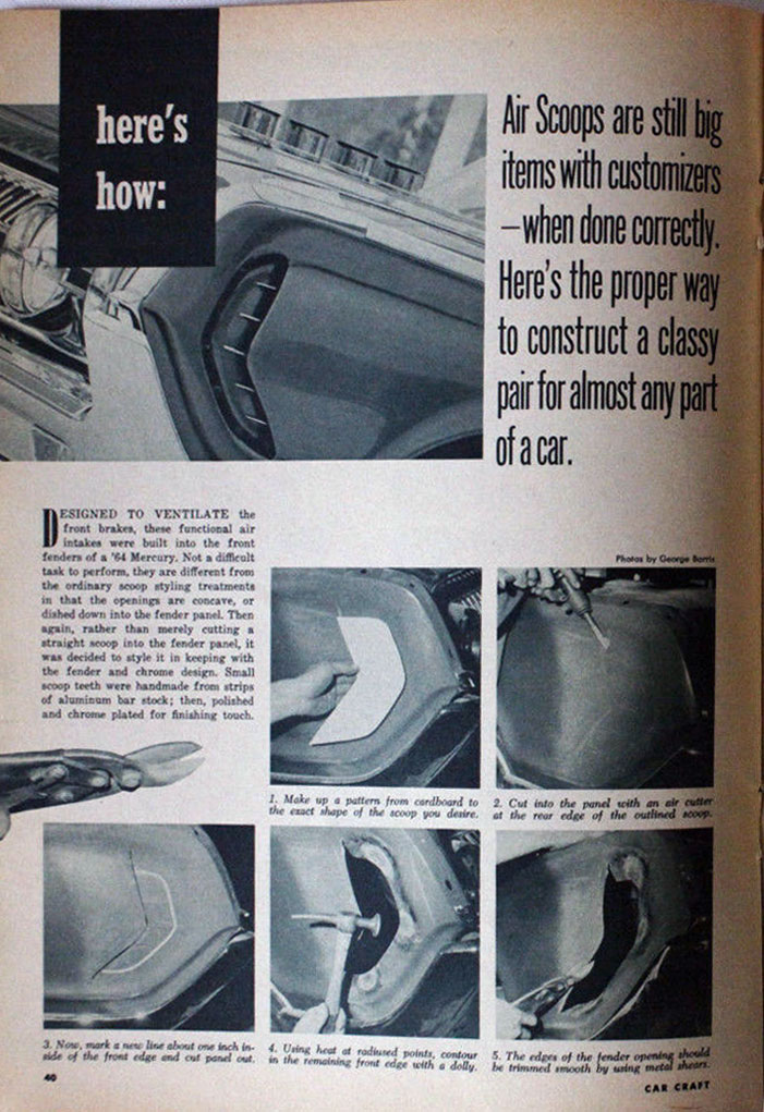 1964 Mercury Super Marauder  - George Barris Cc110