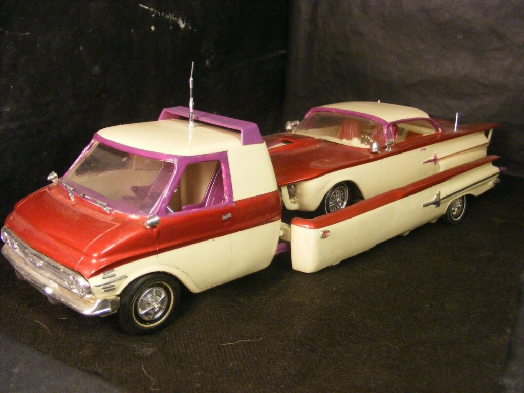 Vintage built automobile model kit survivor - Hot rod et Custom car maquettes montées anciennes - Page 13 Chev510