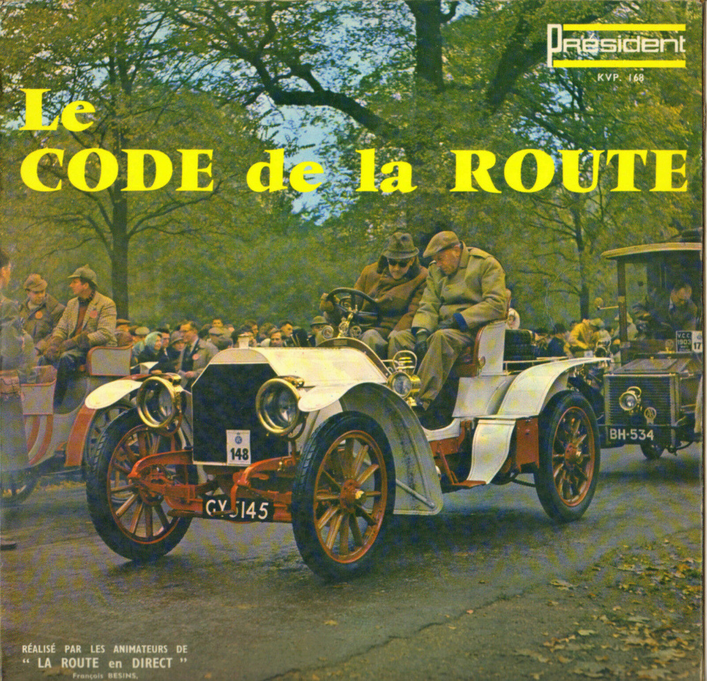 Records with car or motorbike on the sleeve - Disques avec une moto ou une voiture sur la pochette - Page 9 Code10