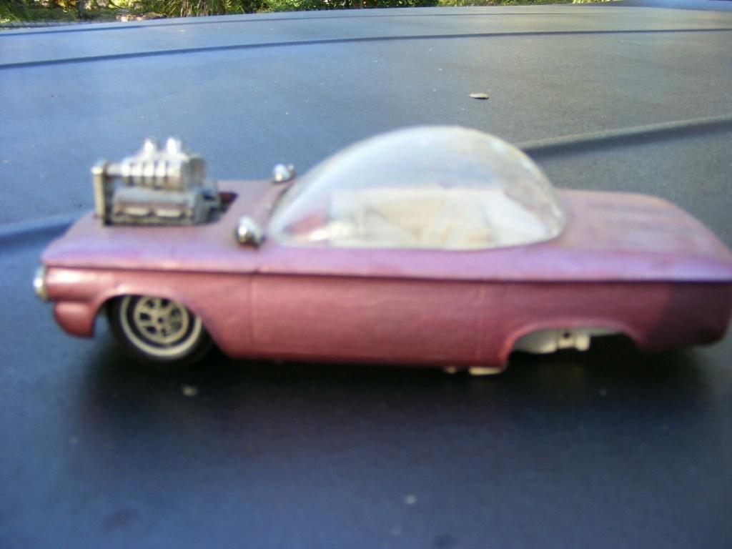 Vintage built automobile model kit survivor - Hot rod et Custom car maquettes montées anciennes - Page 14 Corv10