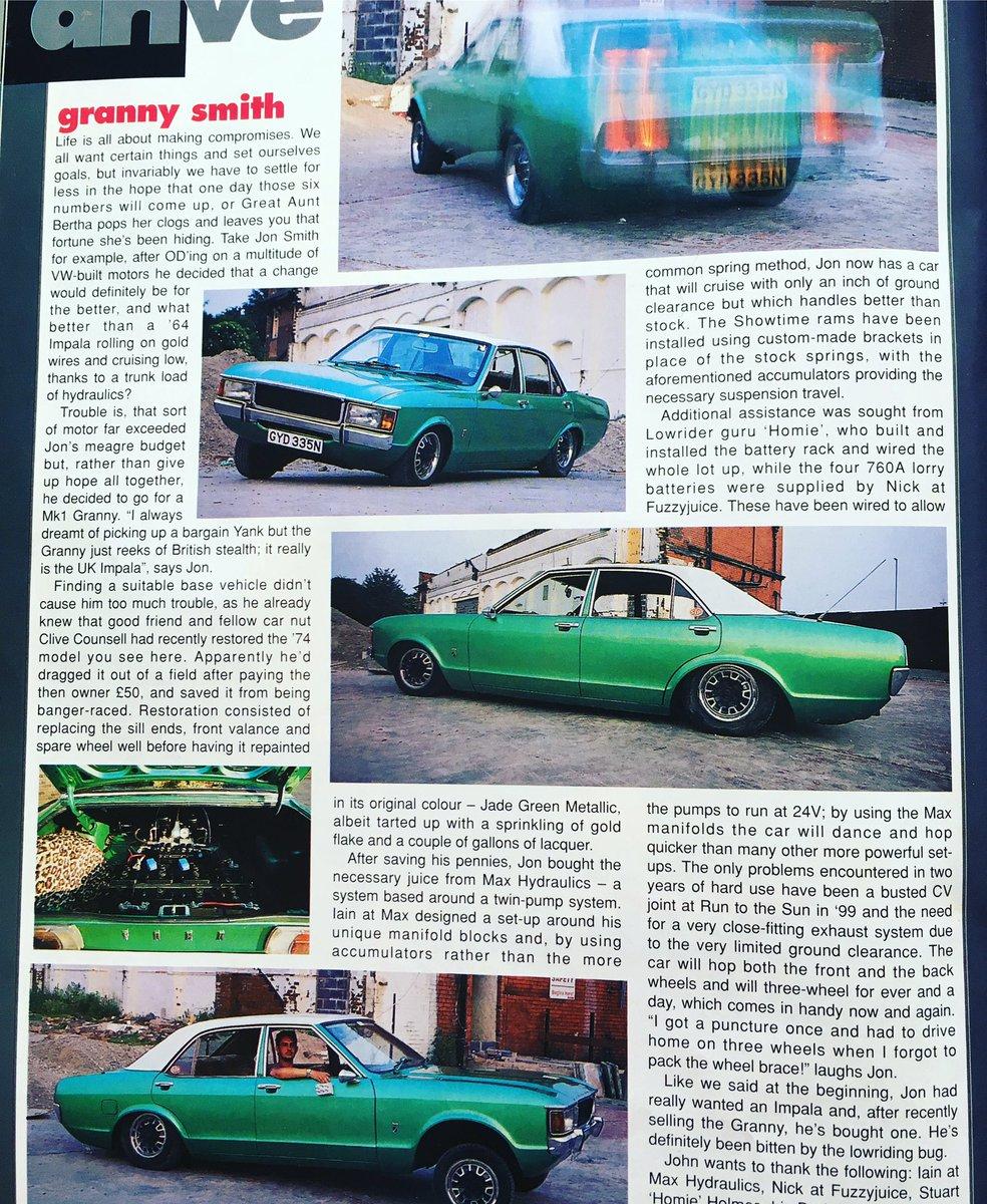 Ford Taunus, Granada, Cortina... Custom Cw6wc910