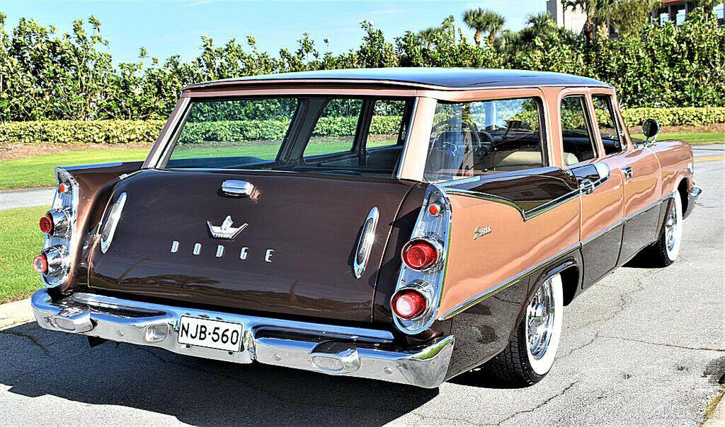 1959 Dodge Custom Royal Sierra 6 Passenger Wagon Dodge511