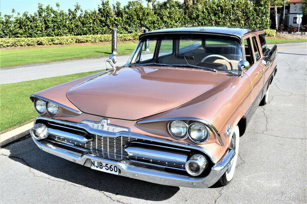 1959 Dodge Custom Royal Sierra 6 Passenger Wagon Dodge512