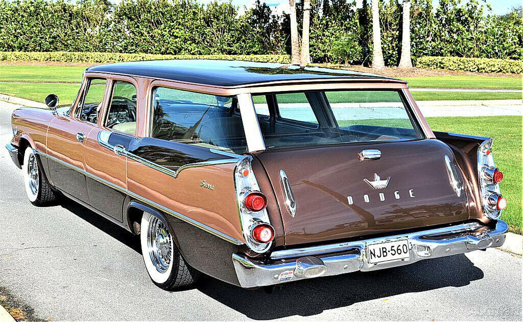 1959 Dodge Custom Royal Sierra 6 Passenger Wagon Dodge513