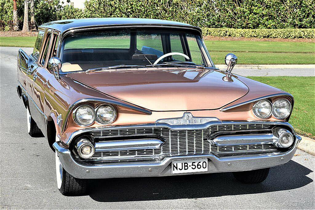 1959 Dodge Custom Royal Sierra 6 Passenger Wagon Dodge515