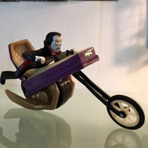 1978 Collectible IDEAL SCARE CYCLES MONSTER Dracula Drac10