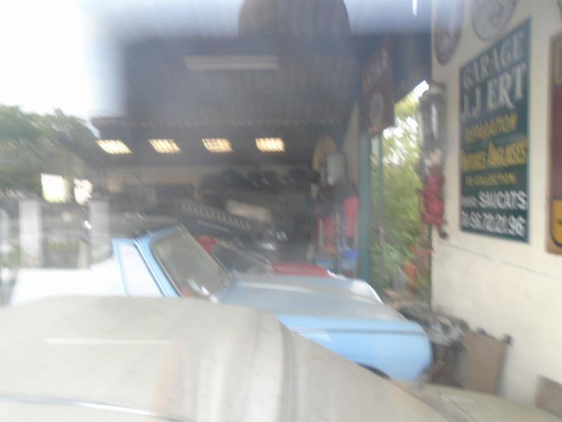Garage d'anglaise à l'ancienne - Mg, Triumph, Jaguar, Austin et d'autres encores Dsc02017