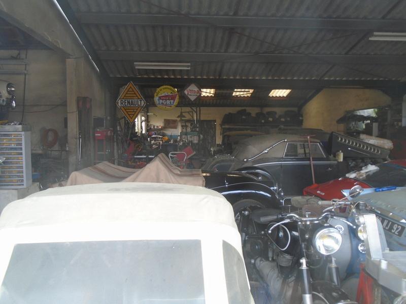 Garage d'anglaise à l'ancienne - Mg, Triumph, Jaguar, Austin et d'autres encores Dsc02019