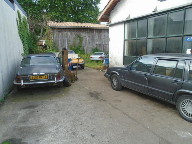 Garage d'anglaise à l'ancienne - Mg, Triumph, Jaguar, Austin et d'autres encores Dsc02021