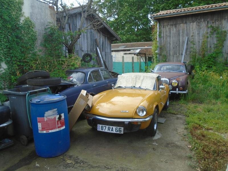 Garage d'anglaise à l'ancienne - Mg, Triumph, Jaguar, Austin et d'autres encores Dsc02022