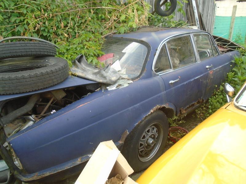 Garage d'anglaise à l'ancienne - Mg, Triumph, Jaguar, Austin et d'autres encores Dsc02023