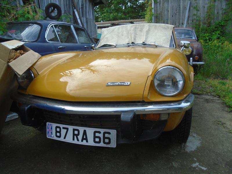 Garage d'anglaise à l'ancienne - Mg, Triumph, Jaguar, Austin et d'autres encores Dsc02025