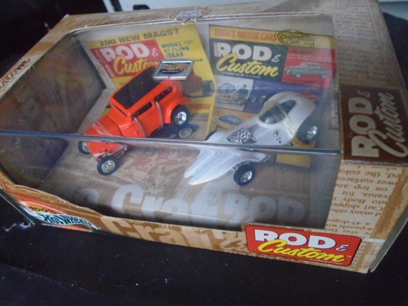 Hot Wheels Collectible 100% - Rod and Custom Magazine - Manta Ray & Orange Crate Dsc02043