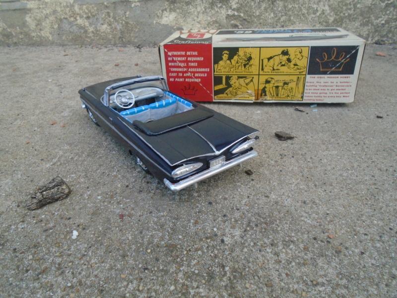 1959 Chevrolet Impala convertible The Craftmans series kit - 1/25 - amt Dsc02210