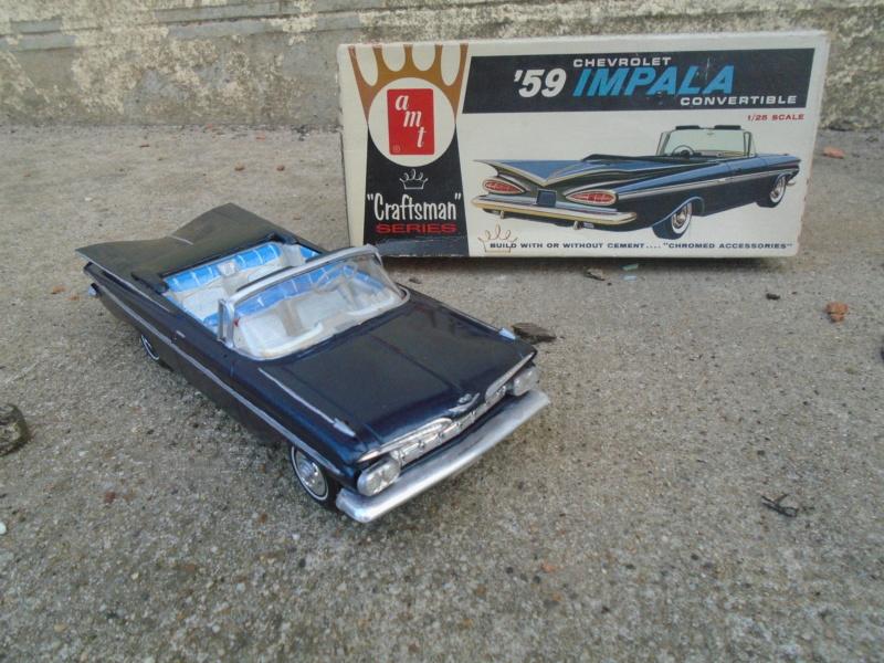 1959 Chevrolet Impala convertible The Craftmans series kit - 1/25 - amt Dsc02211