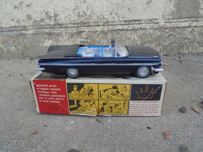 1959 Chevrolet Impala convertible The Craftmans series kit - 1/25 - amt Dsc02212