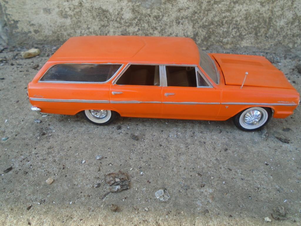 1964 Chevrolet Chevelle Station Wagon - Customizing kit - Amt Dsc03412