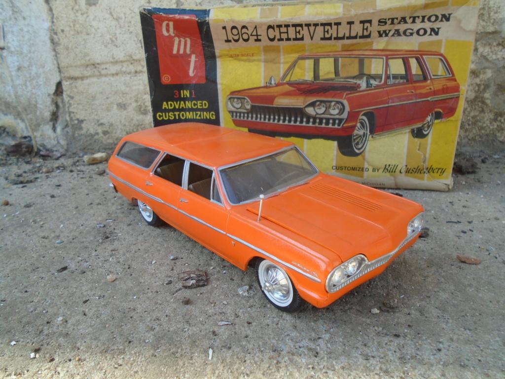 1964 Chevrolet Chevelle Station Wagon - Customizing kit - Amt Dsc03416