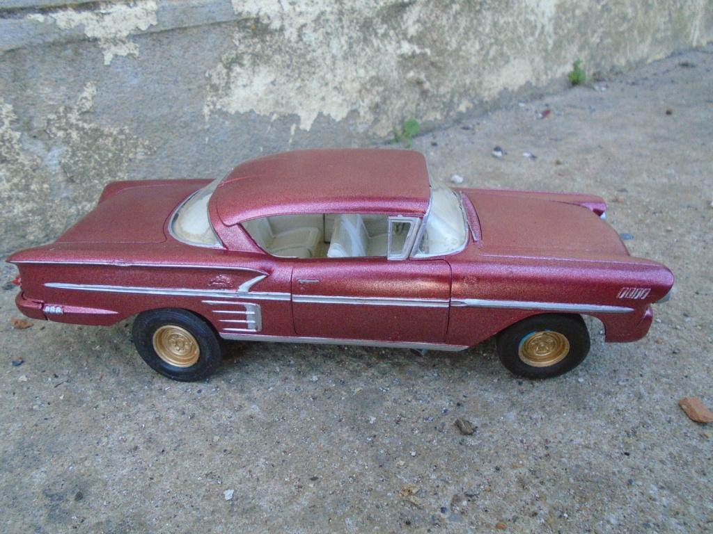 1958 Chevrolet Impala - Customizing kit - Trophie series - Amt - 1/25 scale Dsc03510