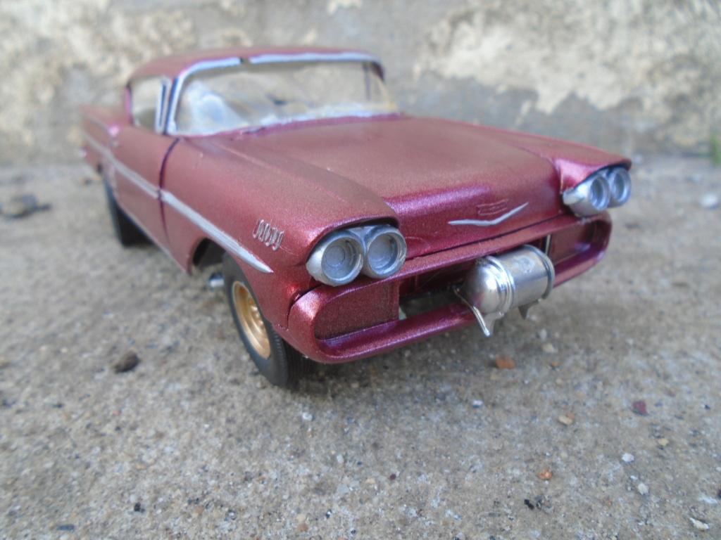 1958 Chevrolet Impala - Customizing kit - Trophie series - Amt - 1/25 scale Dsc03511