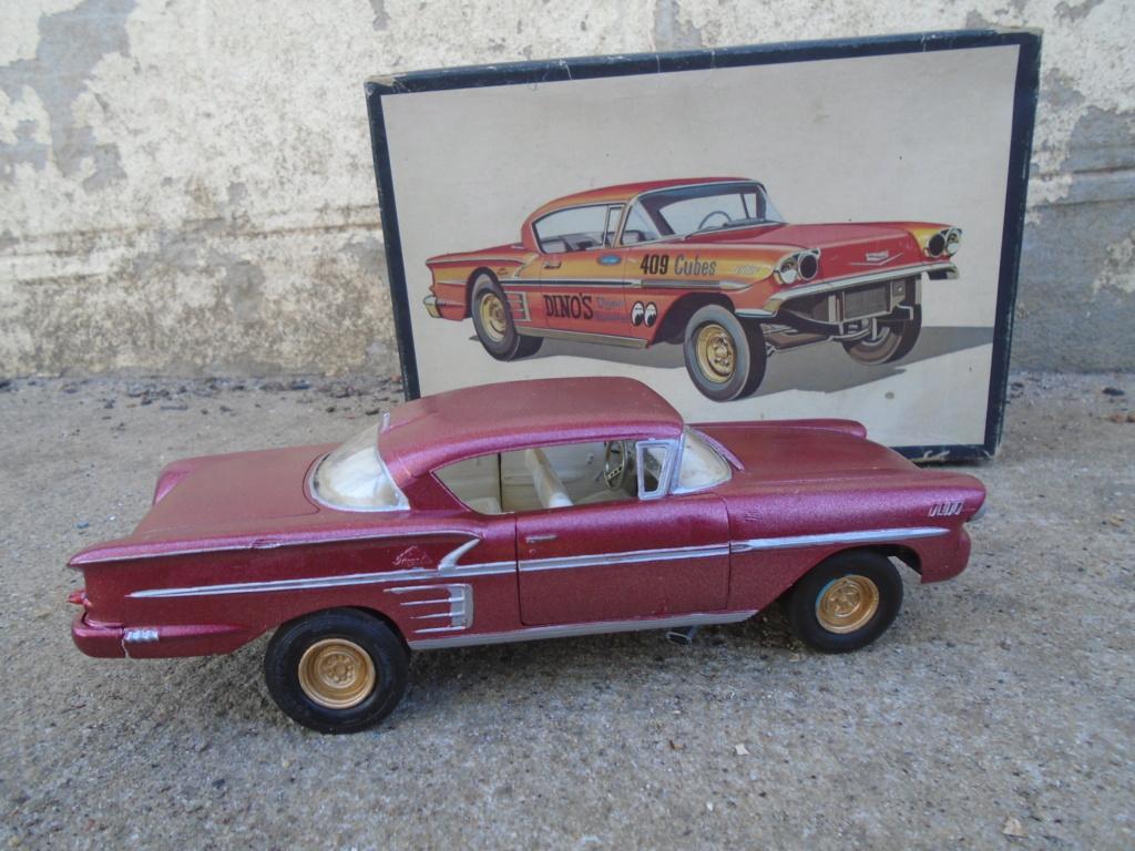 1958 Chevrolet Impala - Customizing kit - Trophie series - Amt - 1/25 scale Dsc03515