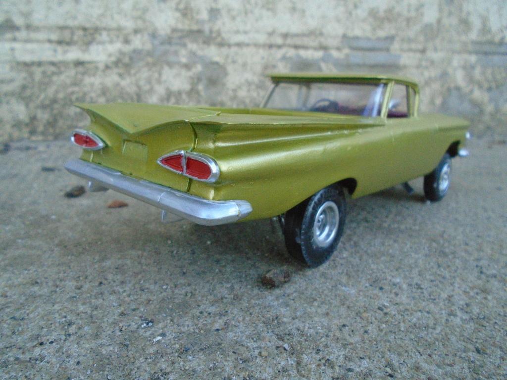 1959 Chevrolet El Camino - Customizing kit - Trophie series - 1/25 scale Dsc03532