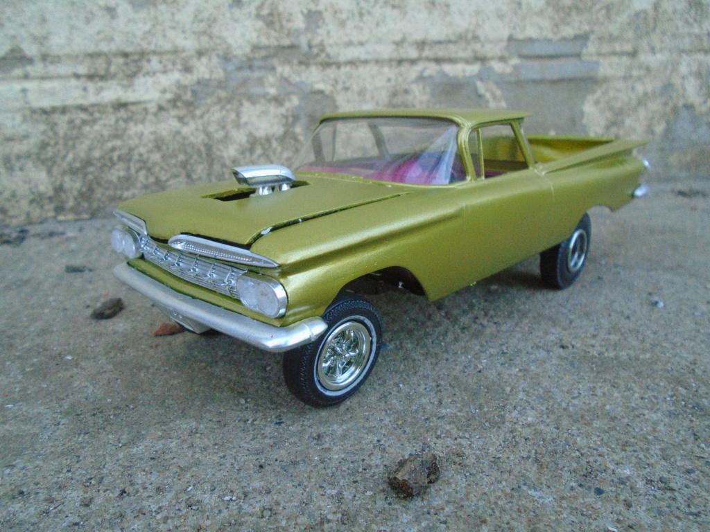 1959 Chevrolet El Camino - Customizing kit - Trophie series - 1/25 scale Dsc03533