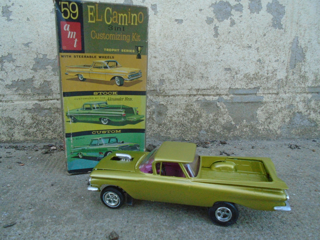 1959 Chevrolet El Camino - Customizing kit - Trophie series - 1/25 scale Dsc03535