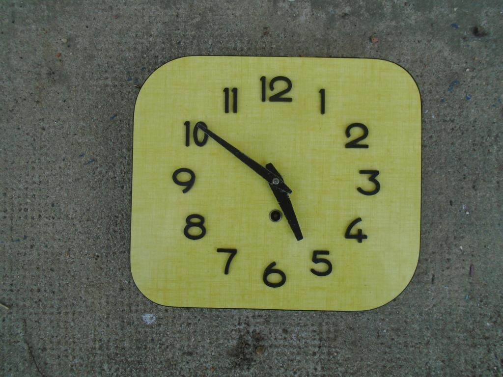 Horloges & Reveils fifties - 1950's clocks - Page 4 Dsc03814