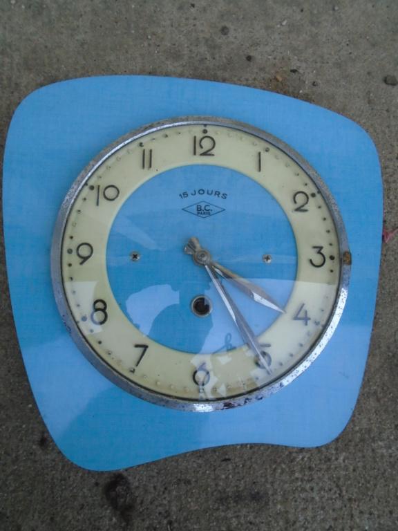 Horloges & Reveils fifties - 1950's clocks - Page 4 Dsc03821