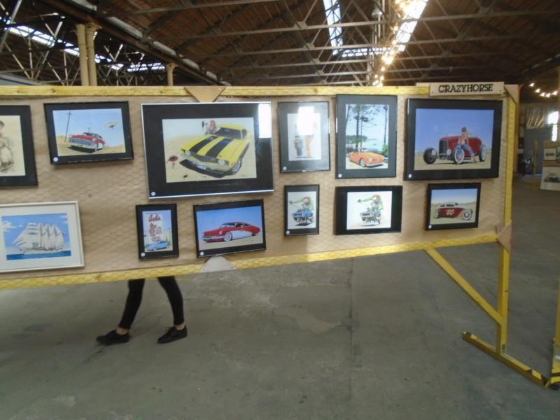 Dimanche 4 Novembre 2018 - rassemblement auto collection espace Darwin - exposition l'Image organisée par Wine & Water Bordeaux - Espace Darwin Dsc04052