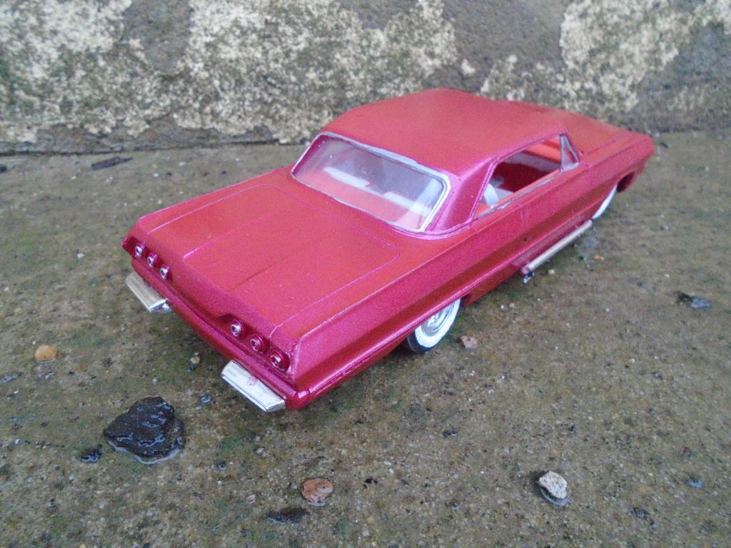 1963 Chevrolet SS - customizing kit - amt - 1/25 scale Dsc04311
