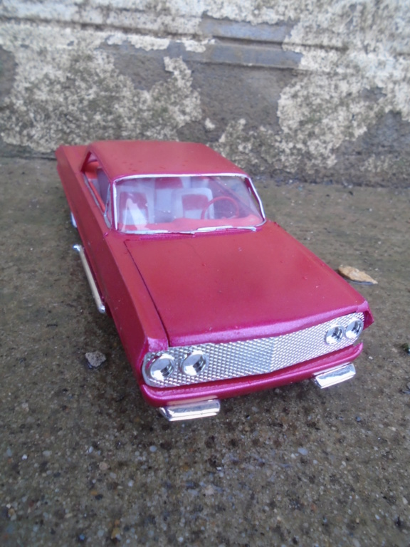 1963 Chevrolet SS - customizing kit - amt - 1/25 scale Dsc04313