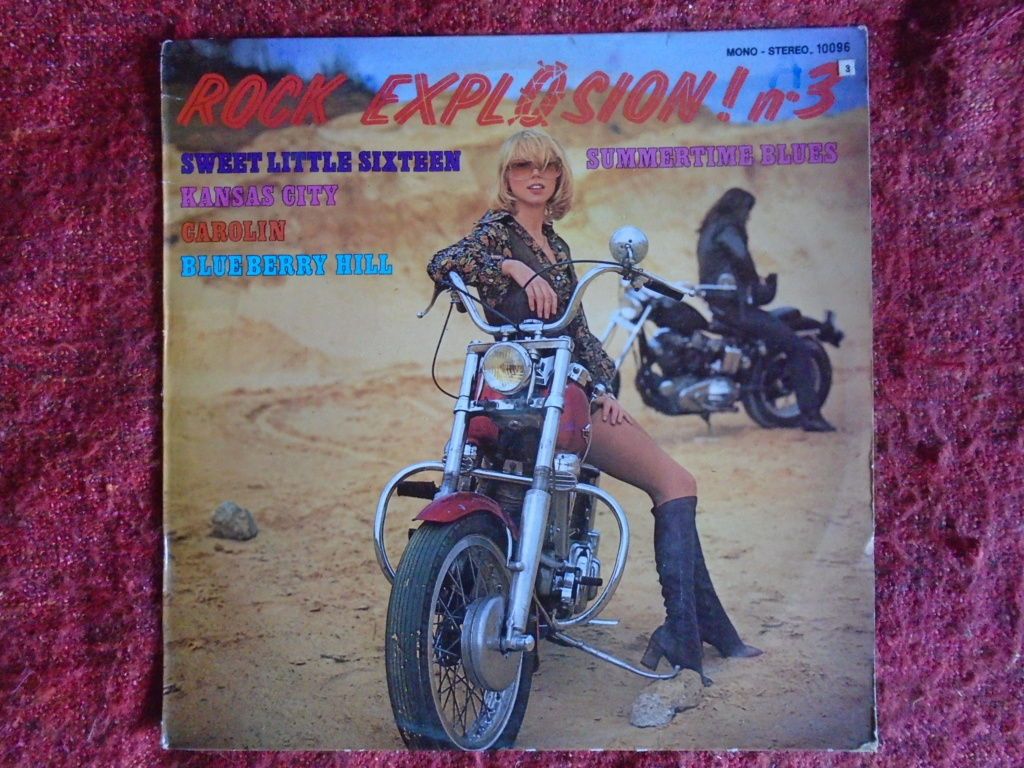 Records with car or motorbike on the sleeve - Disques avec une moto ou une voiture sur la pochette Dsc06711