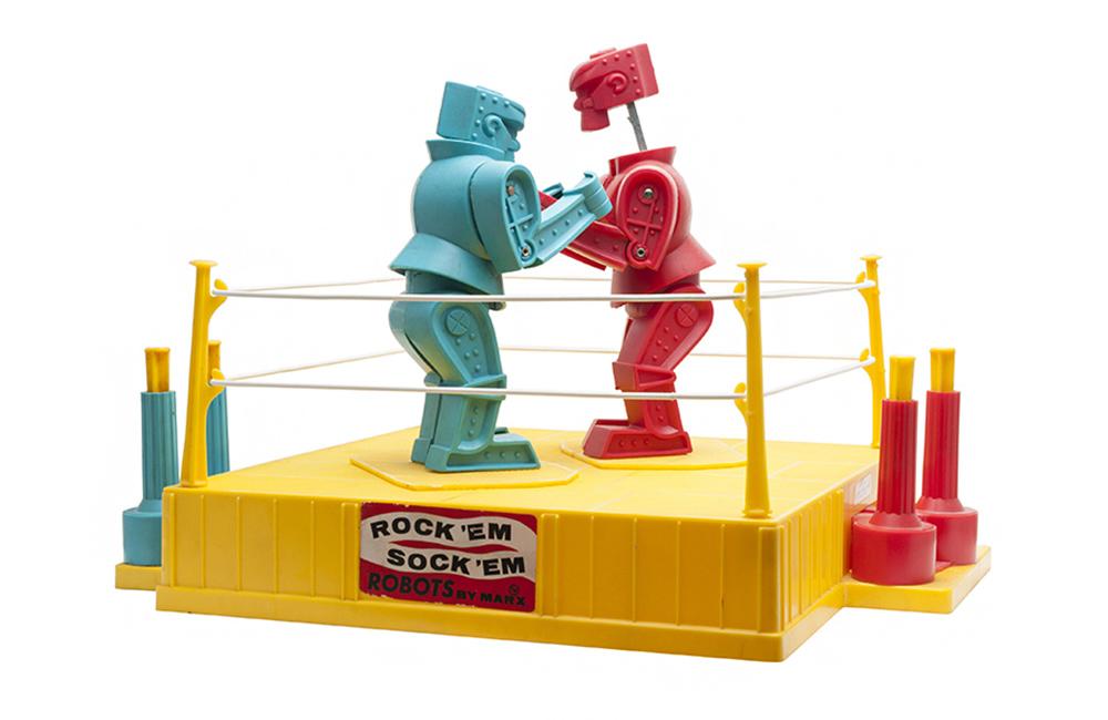 Rock 'Em Sock 'Em Robots from Marx (1966) Dsc_1910