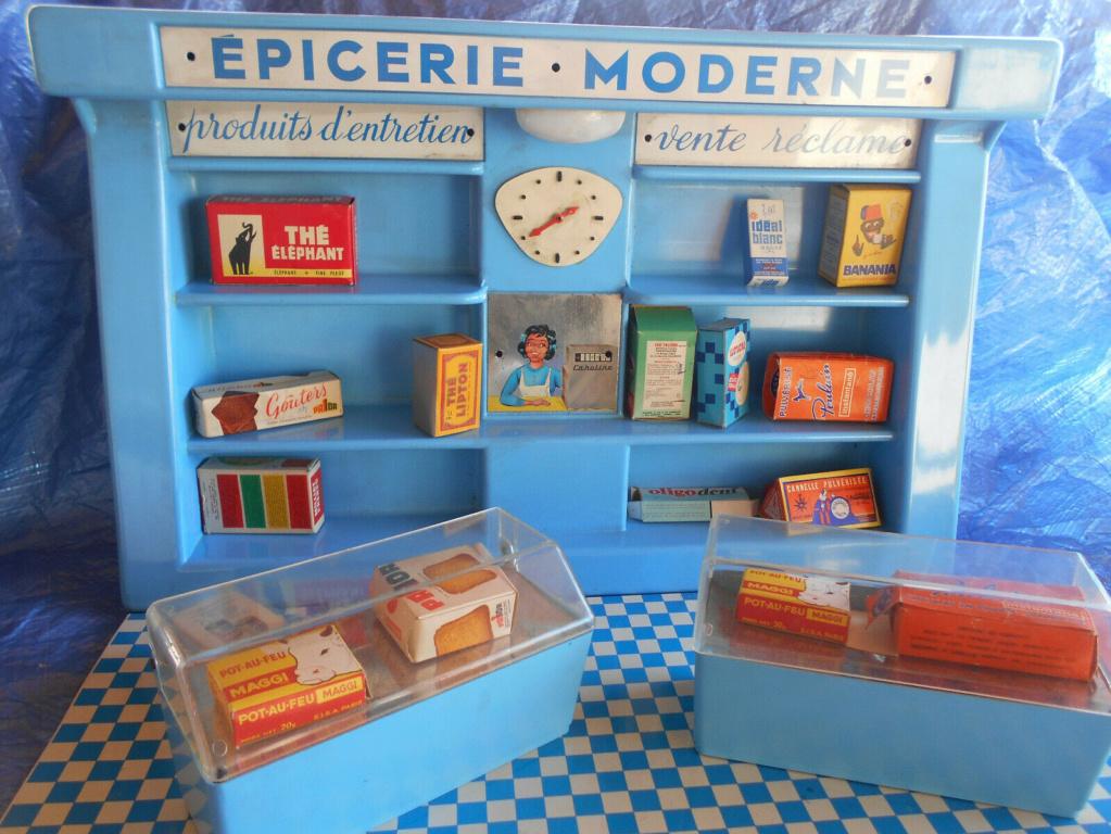 Epicerie jouet années 50 - Grocery toys vintage Em110