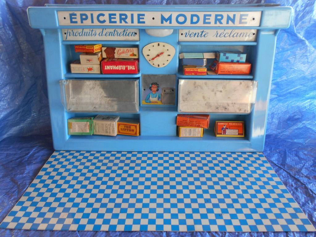 Epicerie jouet années 50 - Grocery toys vintage Em210