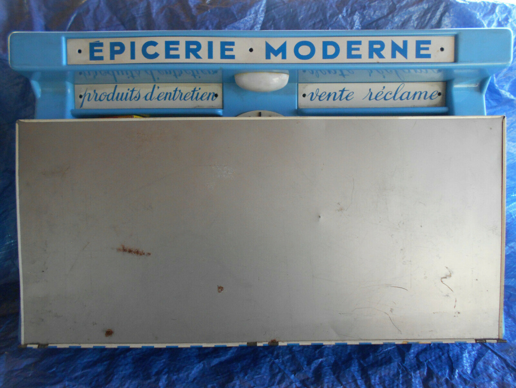 Epicerie jouet années 50 - Grocery toys vintage Em310