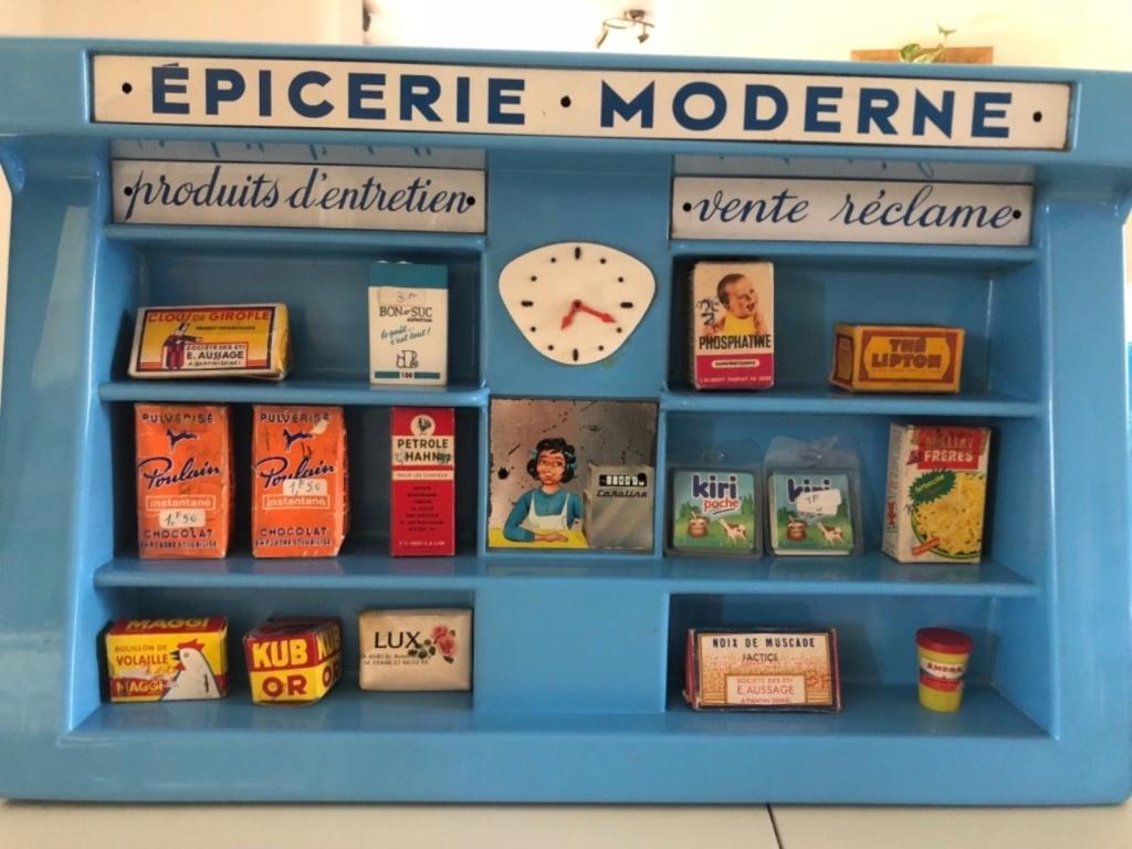 Epicerie jouet années 50 - Grocery toys vintage Em510