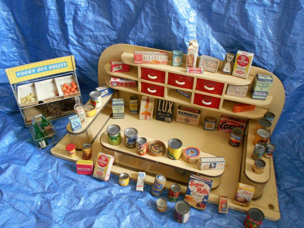 Epicerie jouet années 50 - Grocery toys vintage Ep10