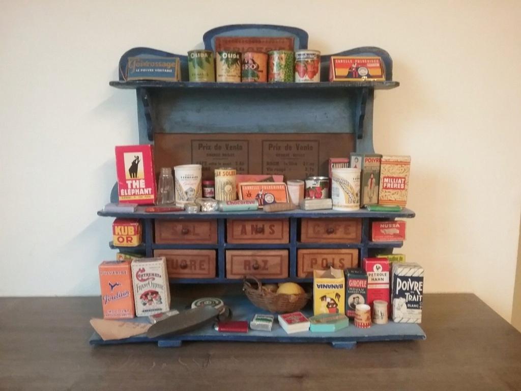 Epicerie jouet années 50 - Grocery toys vintage Ep1910