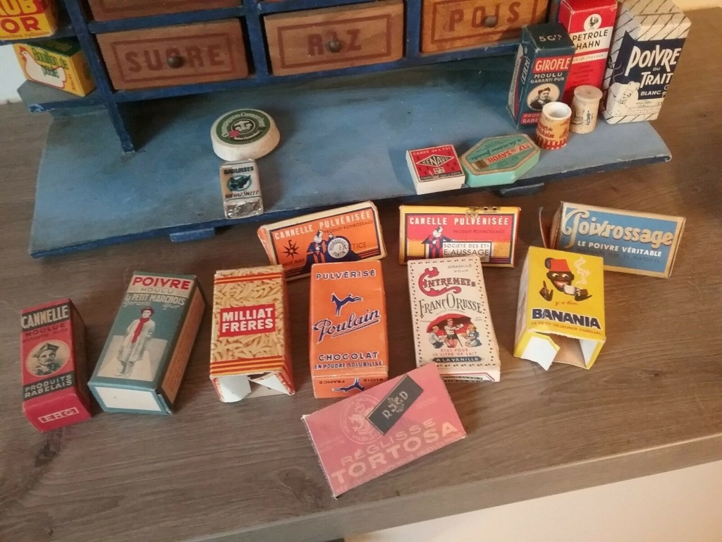 Epicerie jouet années 50 - Grocery toys vintage Ep19410