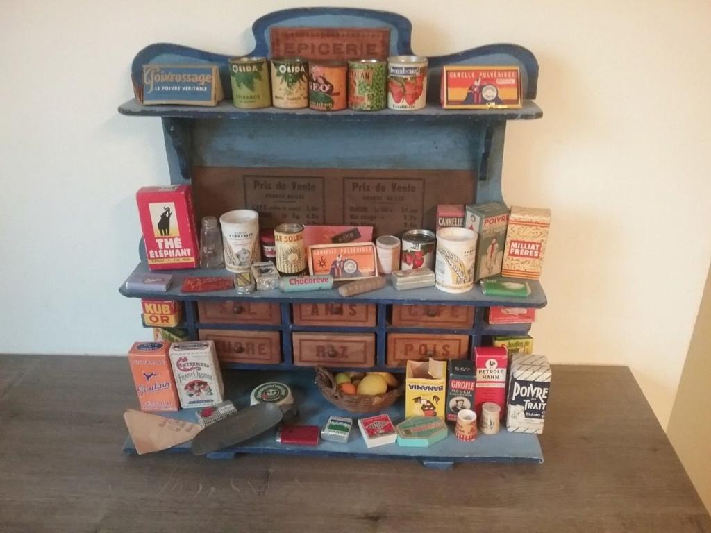 Epicerie jouet années 50 - Grocery toys vintage Ep19910