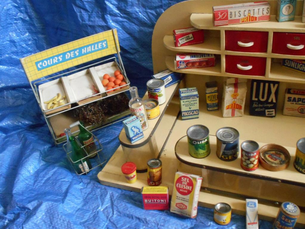 Epicerie jouet années 50 - Grocery toys vintage Ep410