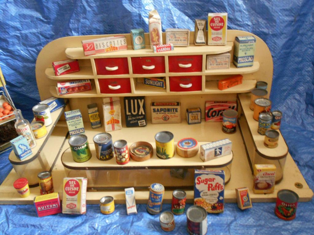 Epicerie jouet années 50 - Grocery toys vintage Ep510