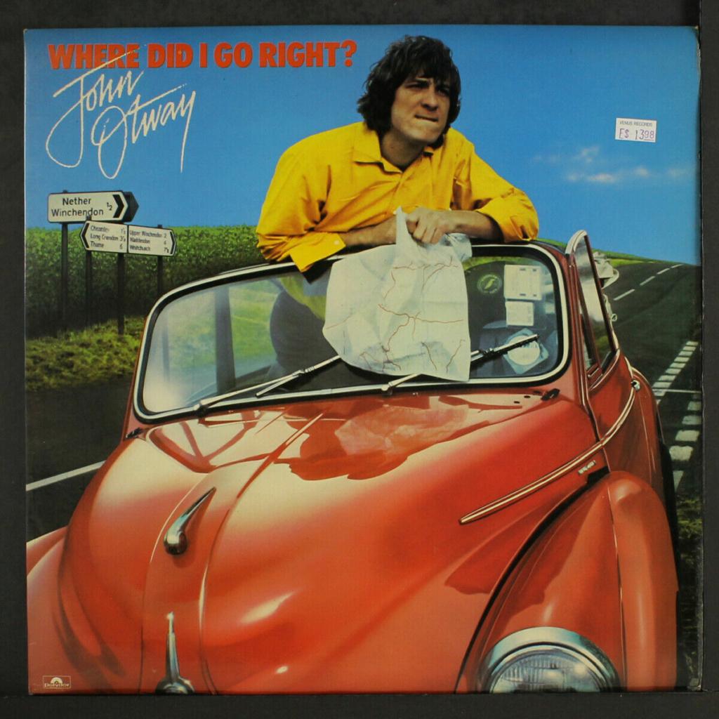Records with car or motorbike on the sleeve - Disques avec une moto ou une voiture sur la pochette - Page 11 Faith14