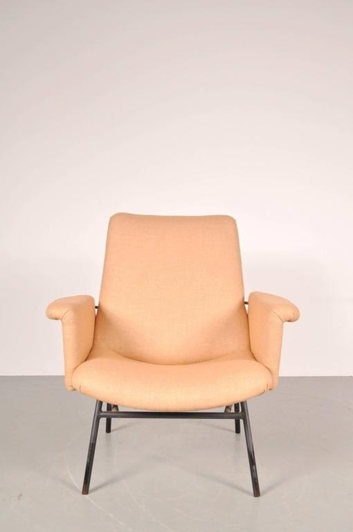 Pierre Guariche - décorateur designer et ensemblier français (Paris, 1926 - Bandol, 1995) Fauteu11